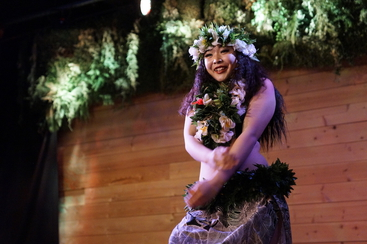 TAHITIAN  DANCE SHOW@SILKROAD CAFE